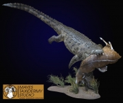 Crocodile full mount, Crocodile lifesize mount