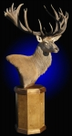 Red Stag Pedestal Mount #1